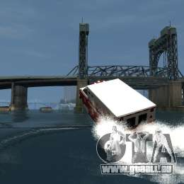 Ambulance boat für GTA 4 obere Ansicht