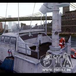 Russian PT Boat pour GTA 4 est une vue de l'intérieur