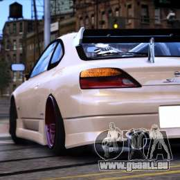 Nissan Silvia S15 für GTA 4 linke Ansicht