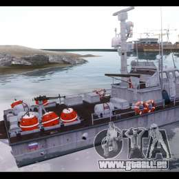 Russian PT Boat für GTA 4 linke Ansicht