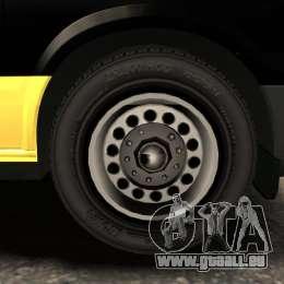Ford Transit Joen Loka [ELS] pour GTA 4 vue de dessus