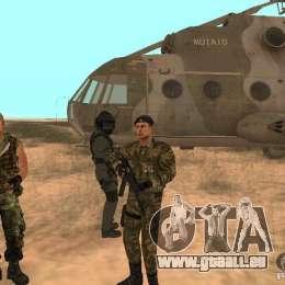 Sowjetische Commando für GTA San Andreas her Screenshot