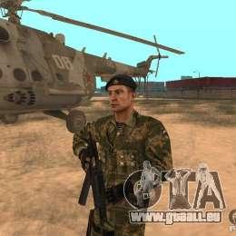 Sowjetische Commando für GTA San Andreas