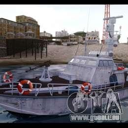 Russian PT Boat pour GTA 4