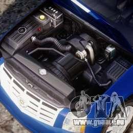 Cadillac Escalade [Beta] pour GTA 4 Vue arrière