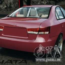 Hyundai Sonata v1.0 pour GTA 4 Vue arrière de la gauche