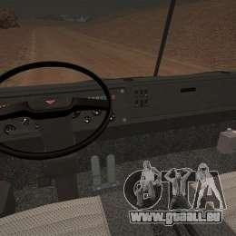 KAMAZ 5410 für GTA 4 hinten links Ansicht