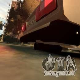 VAZ 2107 für GTA 4 Innenansicht