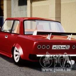 VAZ 2101 Redline für GTA 4 hinten links Ansicht