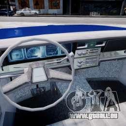 Chevrolet Impala Police 1983 [Final] für GTA 4 Rückansicht