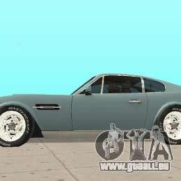 Aston Martin V8 pour GTA San Andreas vue de droite