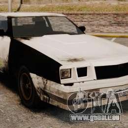 Polizei Färbung für eine rostige Sabre für GTA 4