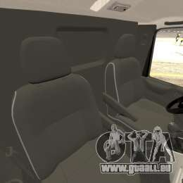 Ford Transit Joen Loka [ELS] für GTA 4 Innenansicht