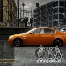 BMW M5 e60 Emre AKIN Edition für GTA 4 linke Ansicht