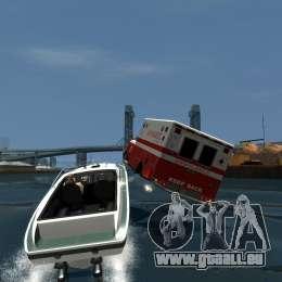 Ambulance boat für GTA 4 Innenansicht