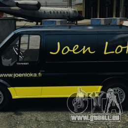 Ford Transit Joen Loka [ELS] für GTA 4 linke Ansicht