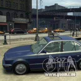 BMW 535i (E34) pour GTA 4 est une gauche