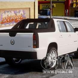 Cadillac Escalade Ext pour GTA 4 Vue arrière de la gauche
