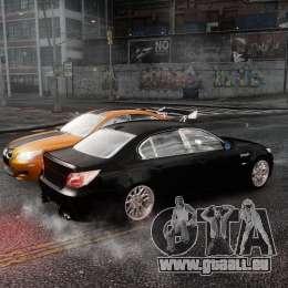 BMW M5 e60 Emre AKIN Edition für GTA 4 Rückansicht