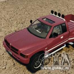 Dodge Ram 2500 Army 1994 v1.1 für GTA 4 Seitenansicht