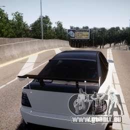 Sultan RS 3.0 für GTA 4 Rückansicht