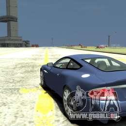 Aston Martin Vanquish S pour GTA 4 Vue arrière de la gauche