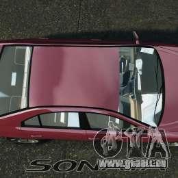 Hyundai Sonata v1.0 pour GTA 4 est un droit