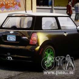 Mini Cooper S 2003 v1.2 pour GTA 4 est un côté