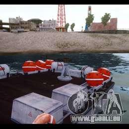 Russian PT Boat für GTA 4 Rückansicht