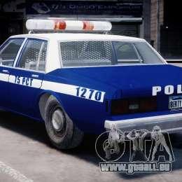 Chevrolet Impala Police 1983 [Final] pour GTA 4 est une vue de dessous