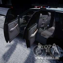 Cadillac Escalade Police V2.0 Final pour GTA 4 est un côté