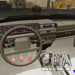 VAZ-21099 für GTA 4 Rückansicht