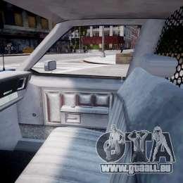 Chevrolet Impala Police 1983 [Final] pour GTA 4 est une vue de l'intérieur