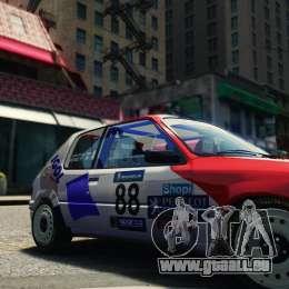 Peugeot 205 Rally pour GTA 4 est un droit