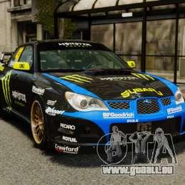 Subaru Impreza WRX STI GD Gymkhana Ken Block für GTA 4