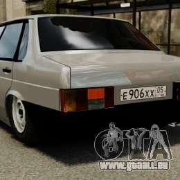 VAZ-21099 für GTA 4 hinten links Ansicht