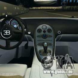 Bugatti Veyron 16.4 Super Sport 2011 v1.0 [EPM] für GTA 4 Rückansicht