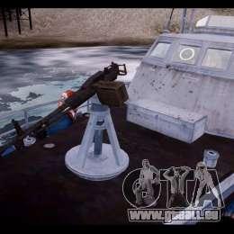 Russian PT Boat für GTA 4 rechte Ansicht