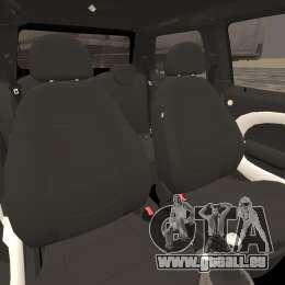 Mini Cooper S v1.3 für GTA 4 Innenansicht