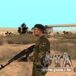 Sowjetische Commando für GTA San Andreas zweiten Screenshot