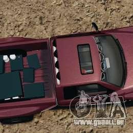 Dodge Ram 2500 Army 1994 v1.1 pour GTA 4 est un droit