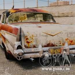 Chevrolet Bel Air 1957 Rusty für GTA 4 hinten links Ansicht