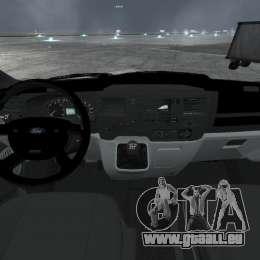 Ford Transit Joen Loka [ELS] für GTA 4 Rückansicht
