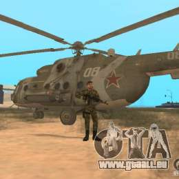 Sowjetische Commando für GTA San Andreas fünften Screenshot