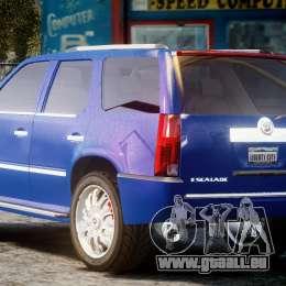 Cadillac Escalade [Beta] pour GTA 4 Vue arrière de la gauche