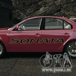 Hyundai Sonata v1.0 pour GTA 4 est une gauche