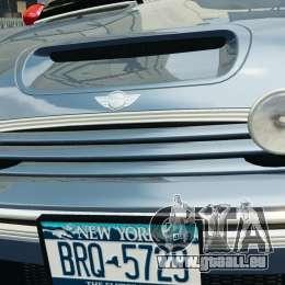 Mini Cooper S v1.3 für GTA 4 Innen