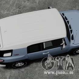 Toyota FJ Cruiser pour GTA 4 est un droit