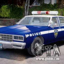 Chevrolet Impala Police 1983 [Final] pour GTA 4 est un côté