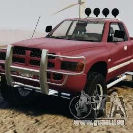 Dodge Ram 2500 Army 1994 v1.1 pour GTA 4